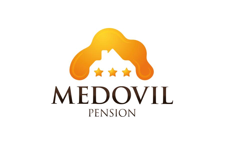 Tvorba loga pro pension Medovil