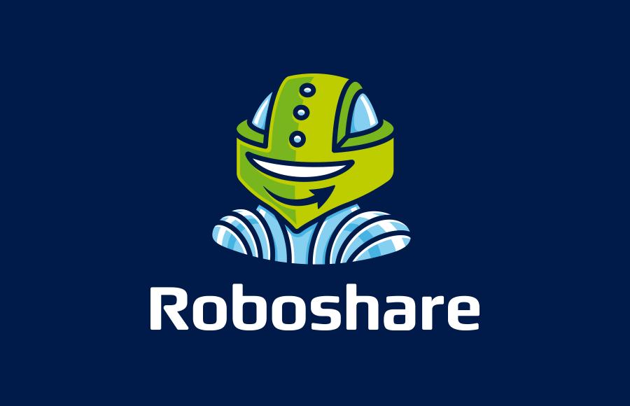 Tvorba loga pro novou službu na sdílení souborů Roboshare (www.roboshare.cz)