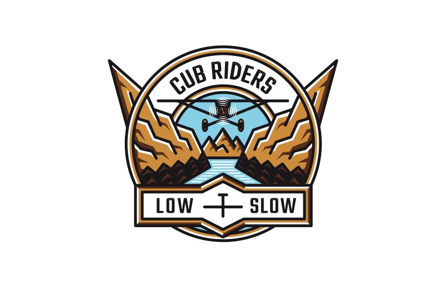 Tvorba osobního loga Cub Riders. Prezentace tvorby zde: www.be.net/gallery/78803753/Cub-Riders