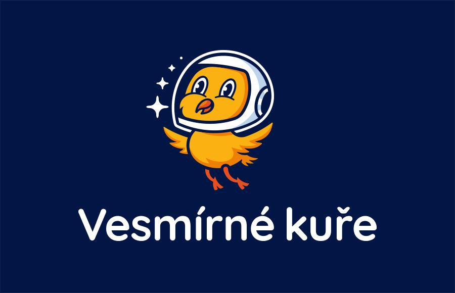 Tvorba loga pro digitální agenturu Vesmírné kuře, která se zaměřuje na tvorbu webů.
