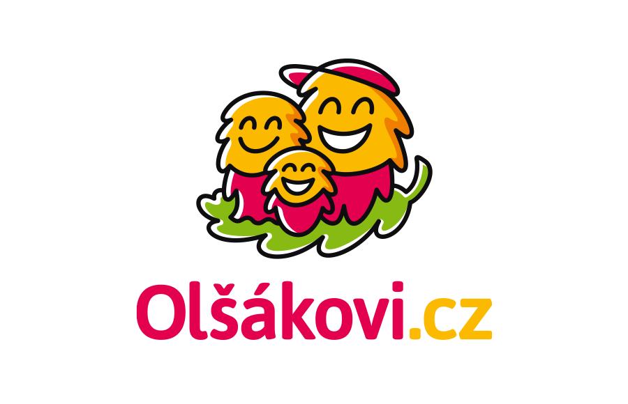Logo pro rodinný e-shop s dětským oblečením Olšákovi.cz (prezentace tvorby loga: https://bit.ly/LogoOlsak)