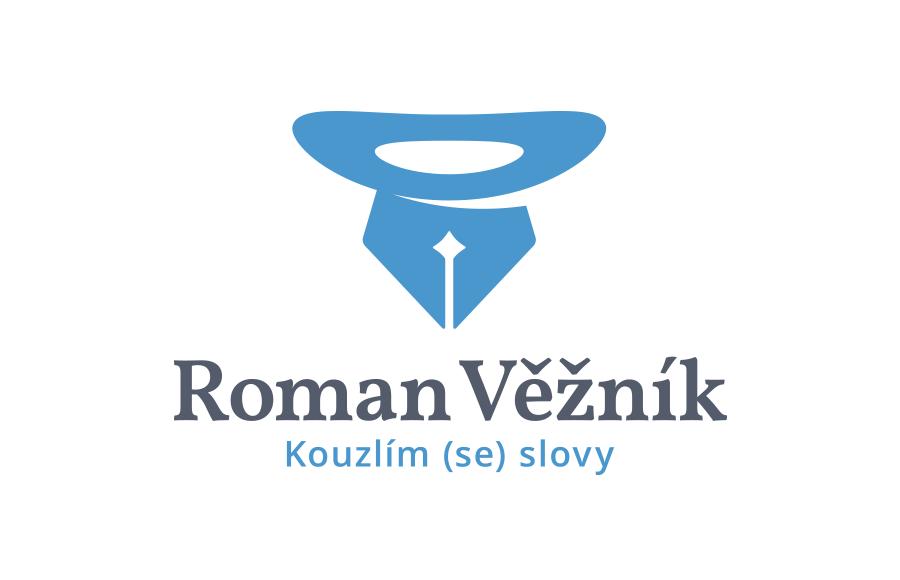 Tvorba loga pro copywritera Romana Věžníka